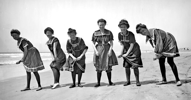 1910 bathing suits